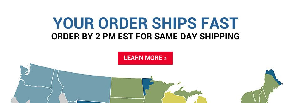 Your Order Ships Fast!