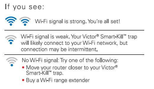 troubleshooting wireless signal strength