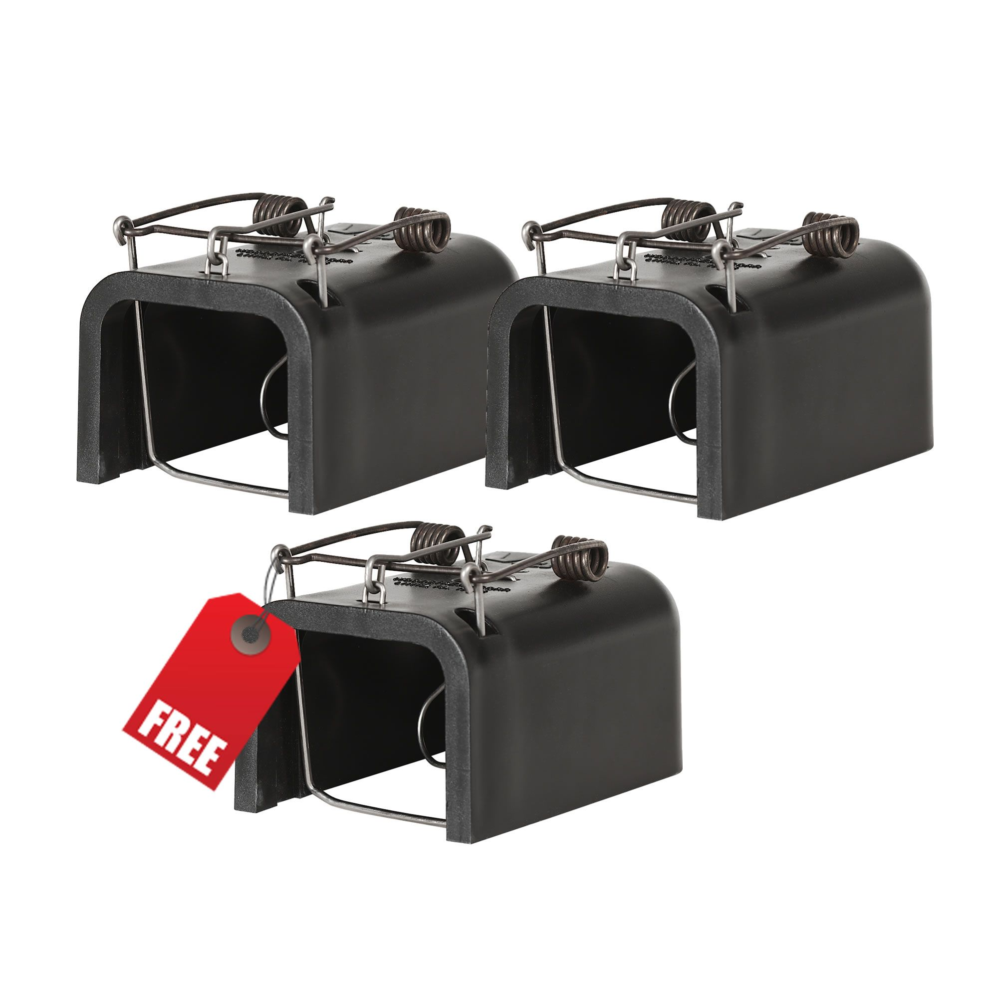 Trap Gophers: Victor® Black Box Gopher Trap 3-Pack