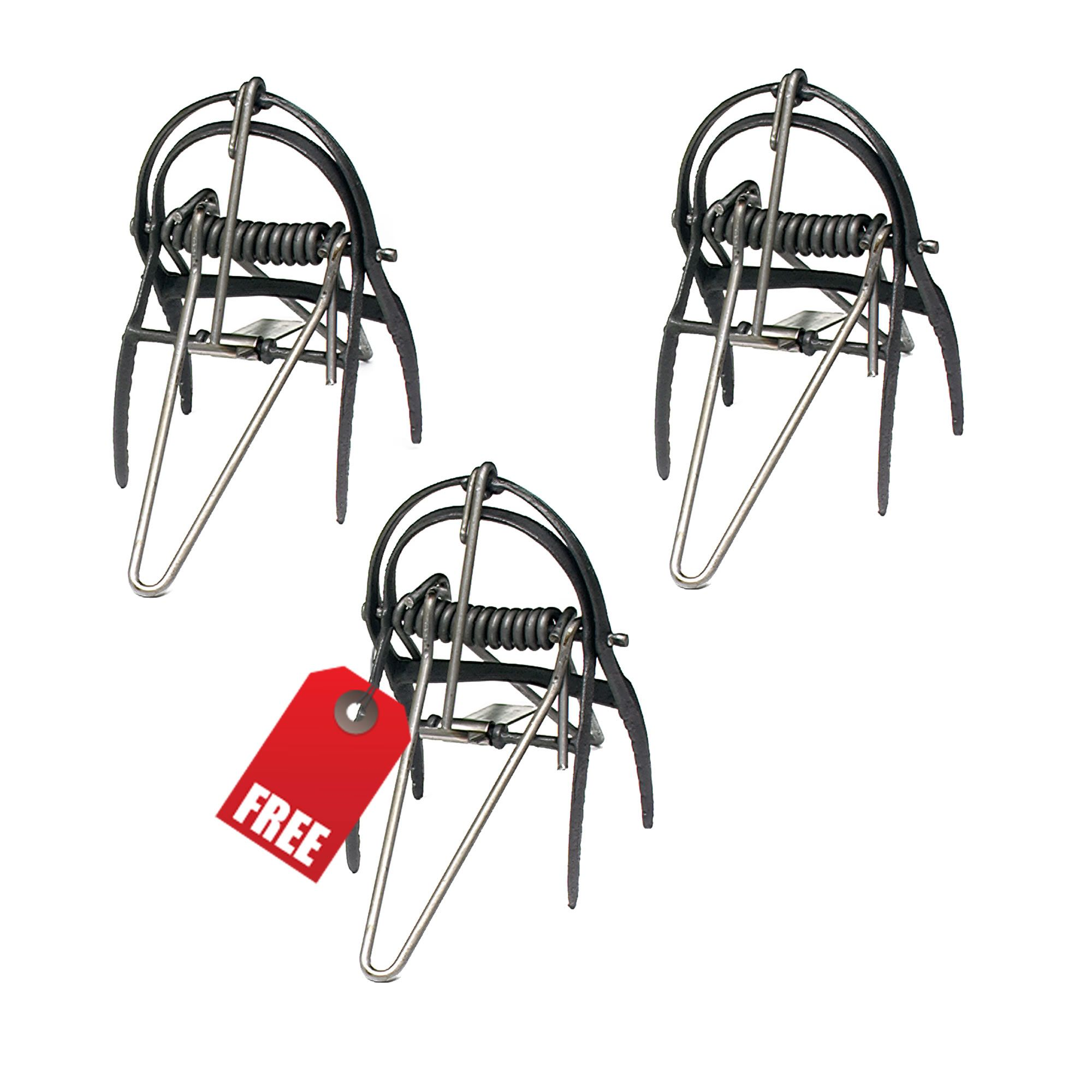 Victor® Out O'Sight® Mole Trap, 3-Pack