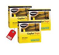 Sweeney's® Gopher Trap - Buy 2 Get 1 FREE