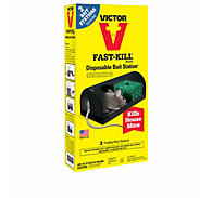 Victor® Fast-Kill® Disposable Bait Stations - 10 Pack