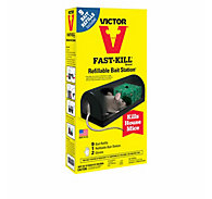 Victor® Fast-Kill® Refillable Bait Station with 9 Bait Refills - 10 Pack