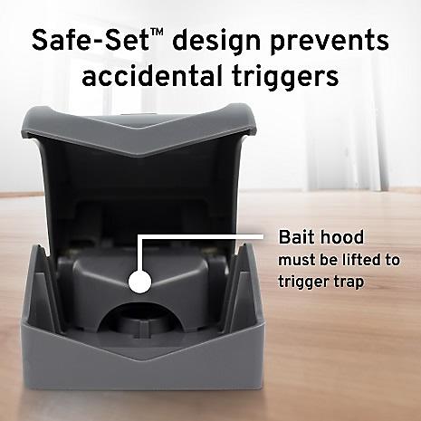 safe set prevents accidental triggers