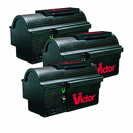 Victor® Multi-Kill™ Electronic Mouse Trap - 3 Traps