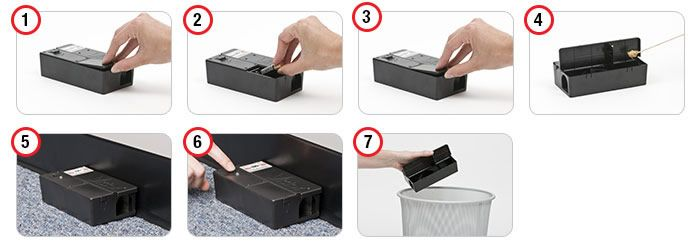 Electronic Mouse Trap Easy to Use