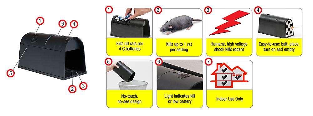 Kill Alert Rat Trap Parts