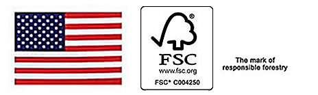 Made in USA and FSC