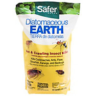 Safer® Brand Diatomaceous Earth 100% - Bed Bug, Flea, Ant, Crawling Insect Killer 4 lb