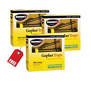 Sweeney's® Gopher Trap - Buy 2 Get 1 FREE