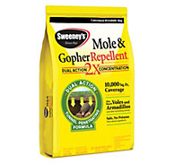 Sweeney's® Mole & Gopher Granular Repellent – 10LB - 6 Bags