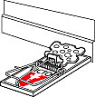 Placement of Mouse Trap - victorpest - rodent control - all about traps