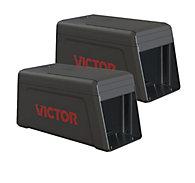 Victor® Electronic Rat Trap - 2 Traps