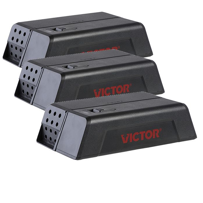 Victor Multikill Electronic Mouse Trap Rodent Pest Control Mice Catcher