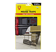 Victor® Quick-Kill® Mouse Trap - 2 Pack