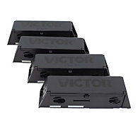 Victor® Electronic Mouse Trap Disposable Refill Chambers - 4-Pack