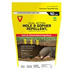 Victor® Mole & Gopher Repellent, 10 lb bag