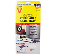 Victor® Hold-Fast® Refillable Rat Glue Traps - 6 Pack