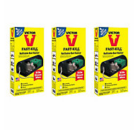 Victor® Fast-Kill® Refillable Bait Station with 9 Bait Refills - 3 Pack
