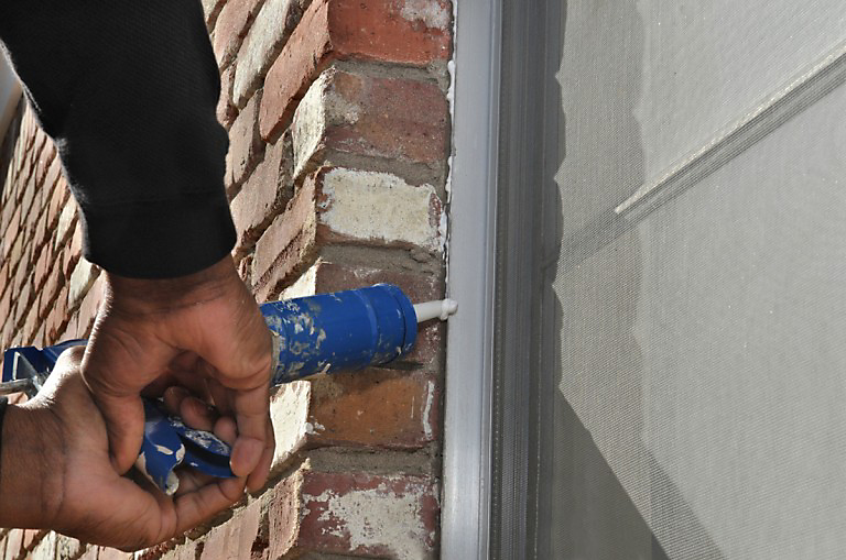 Caulking cracks and gaps on the outside of your home is a big step toward keeping pests out.